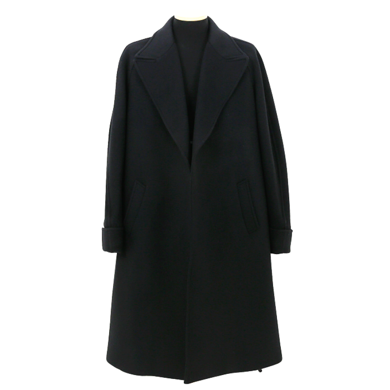 Andrew&co robe coat black